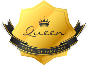 QueenOf Order of Fabulous Badge_F