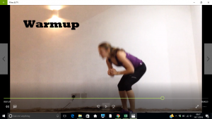 warmup workout videos