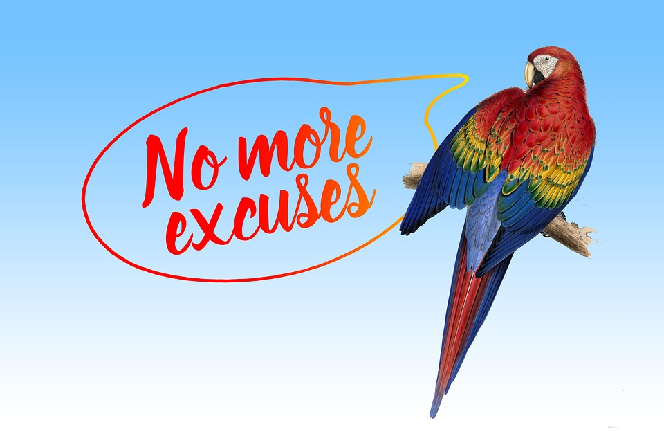 excuses for not exercising