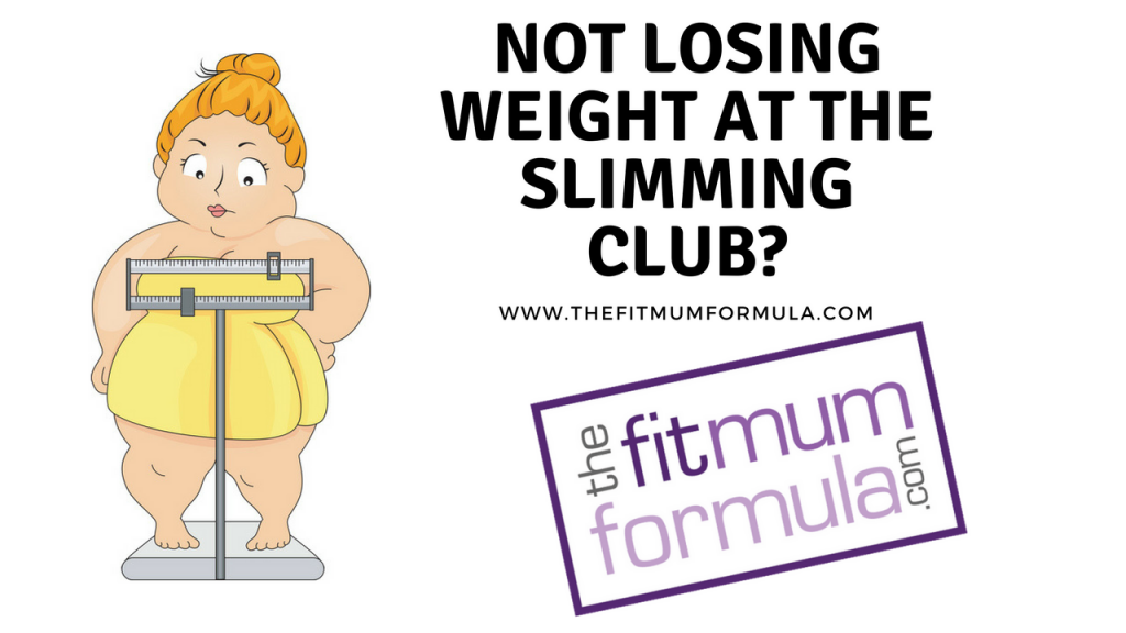 not losing weight on slimming world