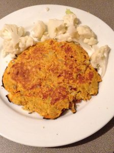 carrot curry pancakes