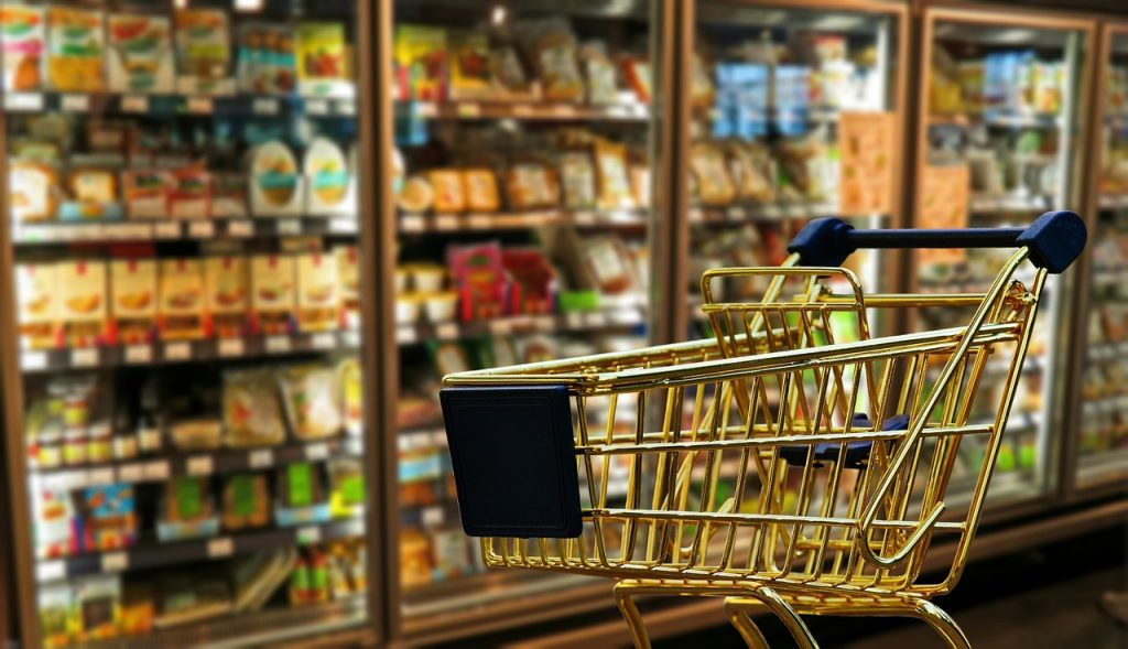 healthy shopping makeover