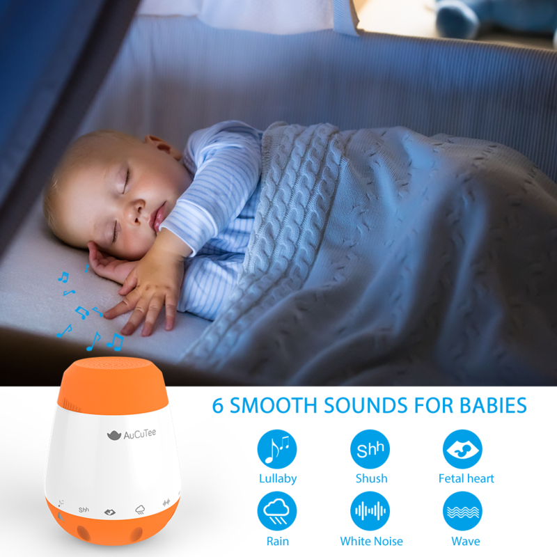 aucutee baby sleep soother review