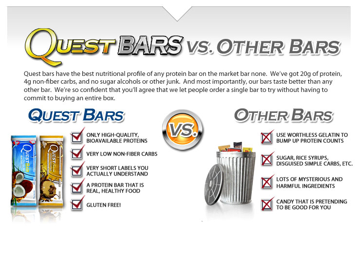 Quest protein bars to lose weight