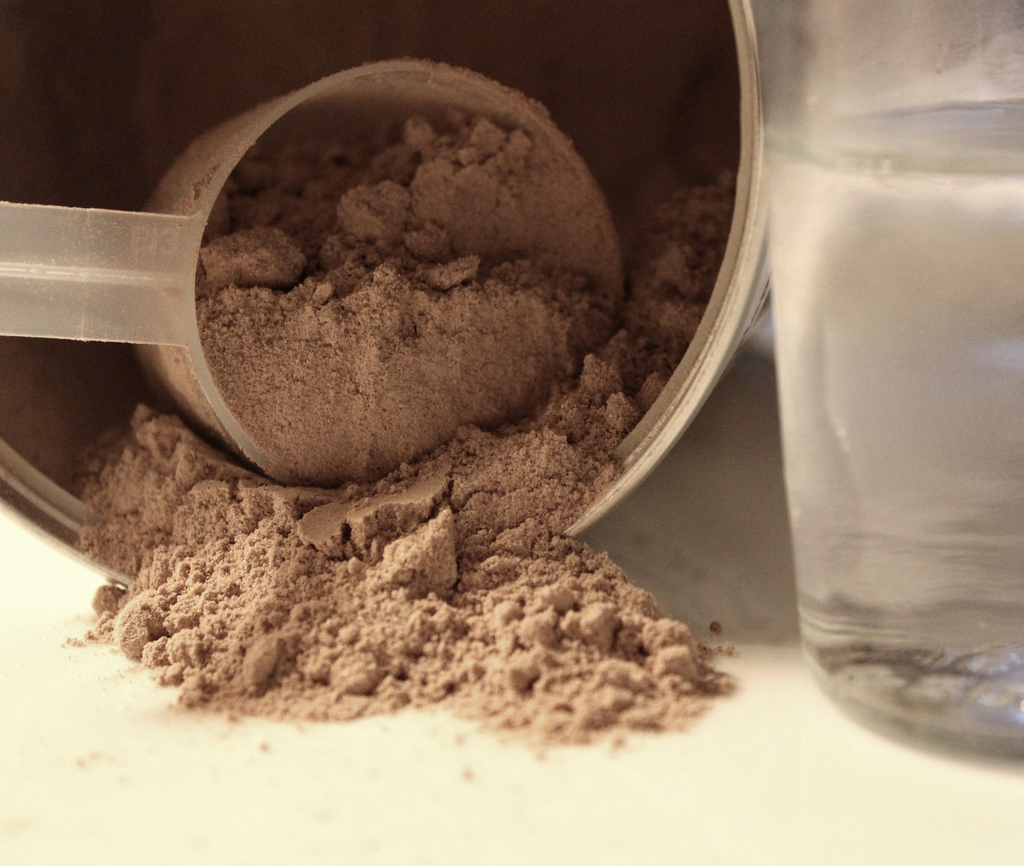 protein powder healthier food
