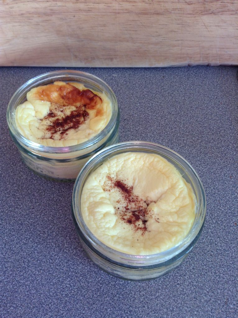 baked healthy custard