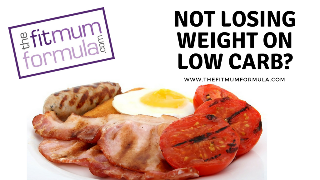 not losing weight on low carb